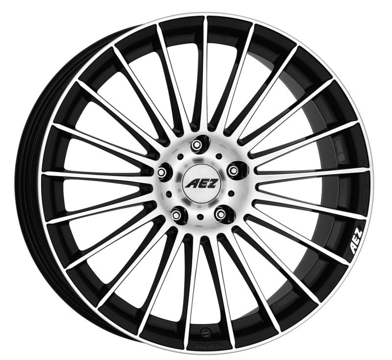 Janta aliaj AEZ Valencia dark Black polished 8.5/19 5x114.3 ET45 image0